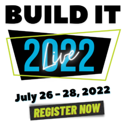 BUILD IT 2022 EVENT IT BY DESIGN BANNER for mobile